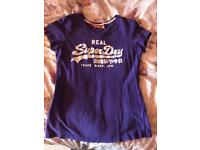 Super dry ladies t-shirt
