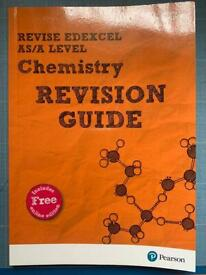 Pearson edexcel chemistry revision guide as/a level