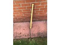 Baseball bat for sale.