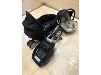 Pram, stroller, car seat, easy fix base