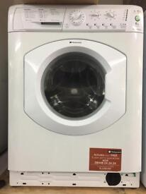 Hotpoint white good looking 6kg 1400spin washing machine