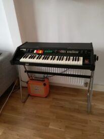 RARE Vintage Synth Organ EKO Encore 49-P