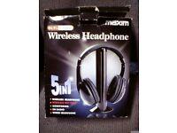 Maxim Hi fi SX BS 5 in 1 Internet Wirleless headphones only £20 ono