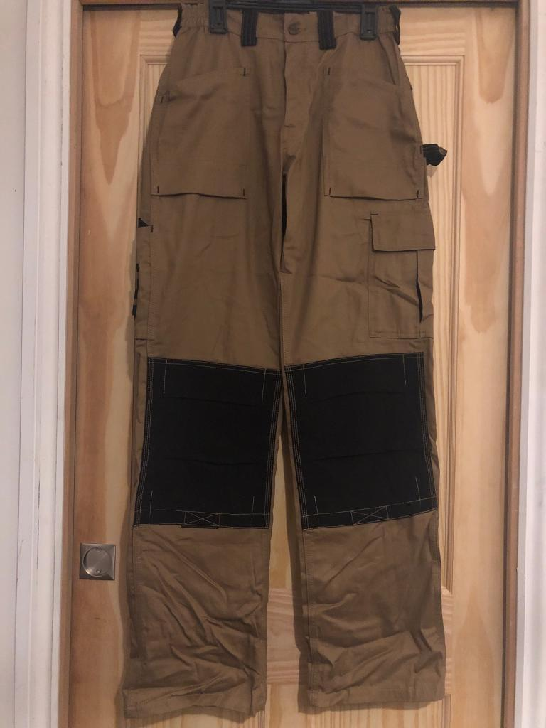 58da8e31d7e314 Dickies Everyday Work Trousers khaki and black