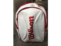 Wilson tennis white bag new