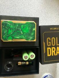 Voopoo DRAG KIT GOLD/RESIN GREEN