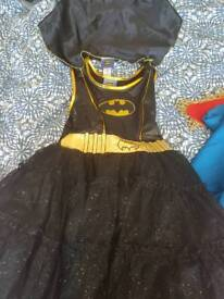 Batgirl costume 7 -8 years