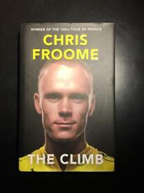 Chris Froome, The Climb, Hardback