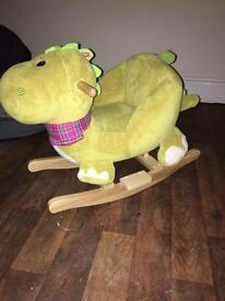CHILDS ROCKING DINOSAUR/ ROCKING HORSE