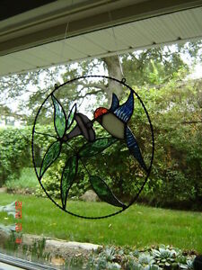 Stained glass Hummingbird ring Kingston Kingston Area image 3
