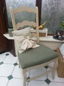 French shabby chic dining chair