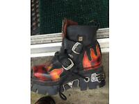 New rock fashion boots