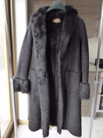Ladies DKNY Faux Fur Coat