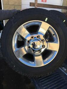 """57056) 4-NEW TAKE OFF 2017 GMC 3500 20"""" WHEELS  AND TIRES  $1600  obo"""