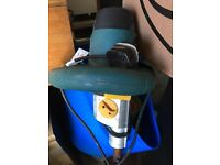 Electric cement - plaster mixer barely used Paddle mixer