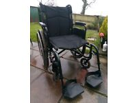 Breezy by Quickie Foldable Wheelchair
