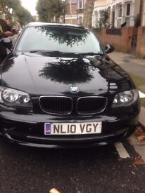 BMW 1Series 2010 Diesel 5 door black
