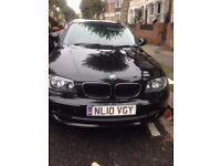 BMW 1Series 2010 Diesel 5 door black