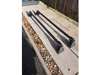 Genuine landrover roof box and rails