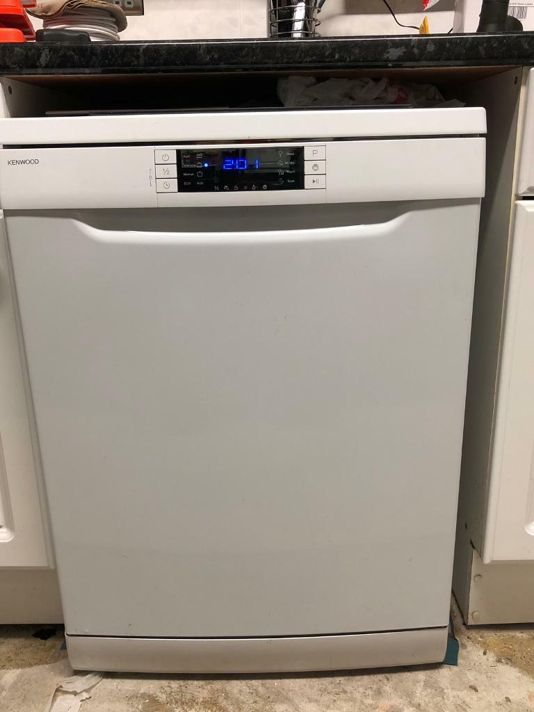 Full size free standing dish washer