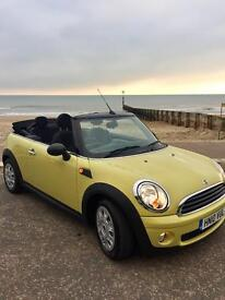 Mini 1.6 Auto One Convertible only 46,000 miles