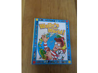Wally's World! magazine collection in binders and sticker book
