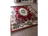 Red Palace Rug