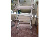 Heated clothes airer. Lakeland Drysoon