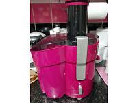 Pink Silvercrest Juicer SFE450C1