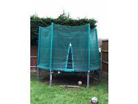 10ft trampoline hardly used