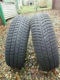 2 Cooper175/65R14 Winter Tyres