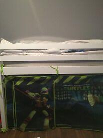 White turtle tent midi sleeper