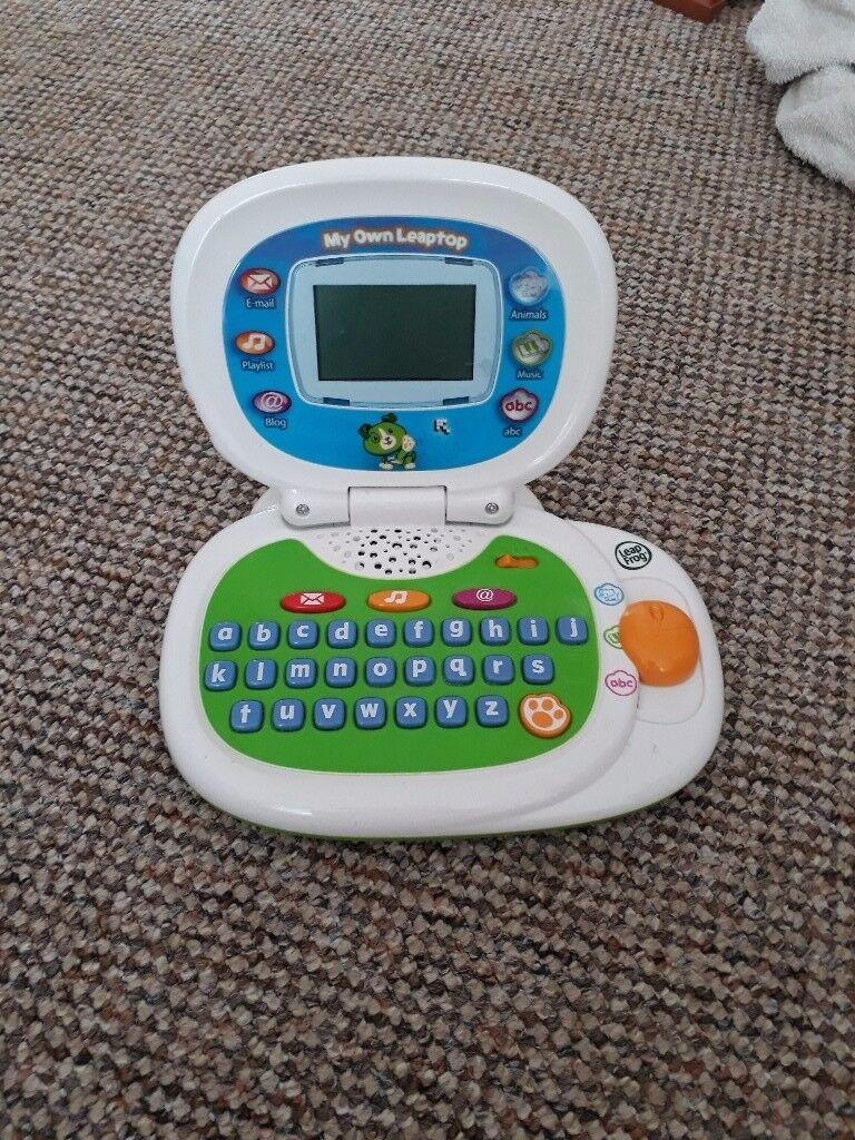 Leapfrog baby laptop
