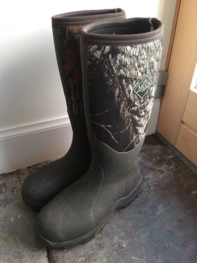 4450cb57c46 Muck Boots Men's Woody Max (size 9) Camo Wellington Boots | in Dunfermline,  Fife | Gumtree