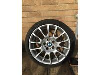 BMW 320 Alloy wheels