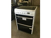 Hotpoint Smart DSC60P Electric Double Oven Cooker
