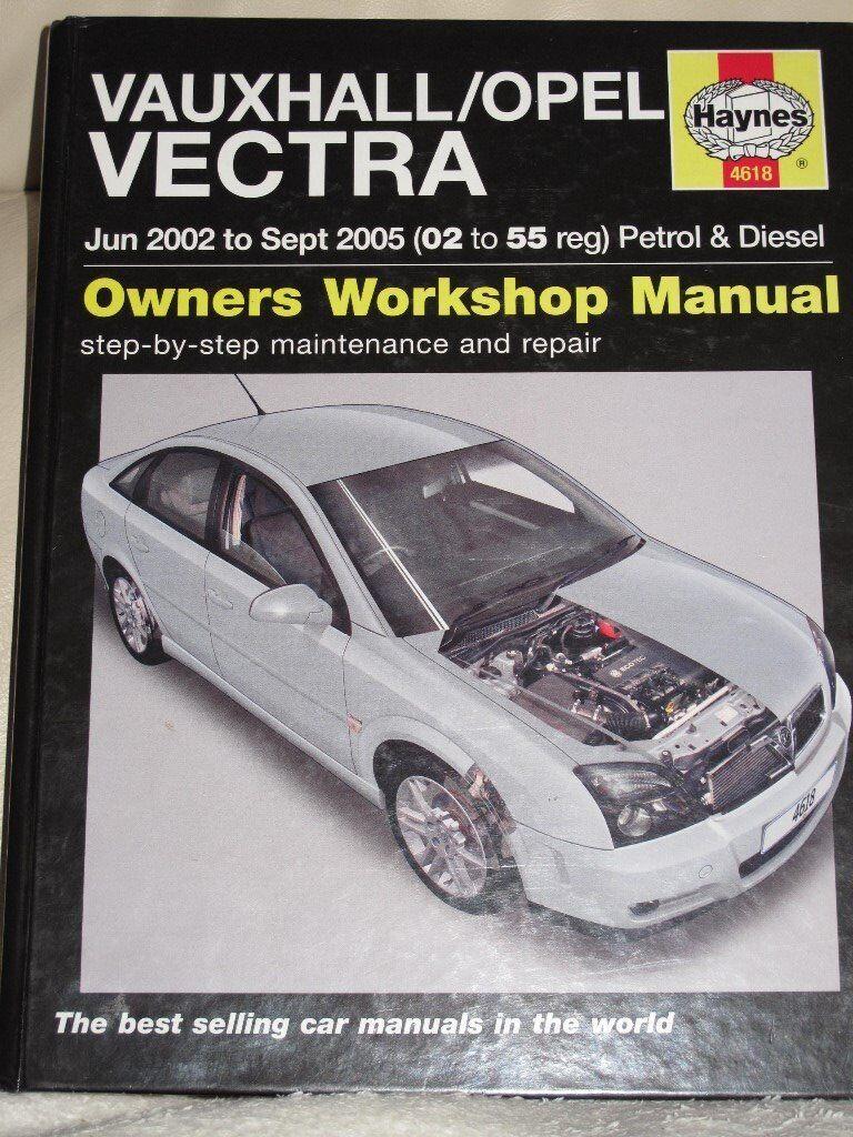 Haynes Manual Vauxhall Vectra C
