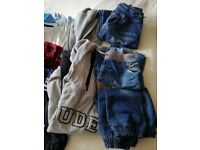 BUNDLE OF BOYS CLOTHES AGE 8-10