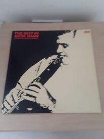 The Best of Artie Shaw - Clarinet Concerto LP