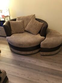 Snuggler sofa chair for sale