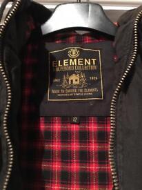 Element wolfboro coat childs