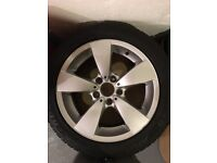 BMW 5 Series Alloy Wheels and Winter Tyres