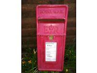 Royal Mail Post Box Front - Lamp Box Machan 1998
