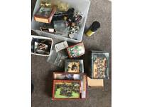 Games Workshop miniatures , books and paints