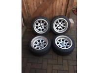 Mini lite alloy wheels