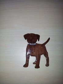 Dog brooch