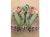 Baby/Toddler next girls sandals - size 4