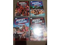 Jersey Shore DVDs Seasons 1 2 4 and 5 £10