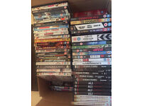 Over 100 Mixed Lot Of DVD's - Recent Titles, Comedy, Action, a few Horror, Wildlife, Documentary