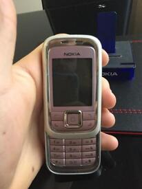 Nokia Slide 6111 - Frosty pink (EE and T Mobile)